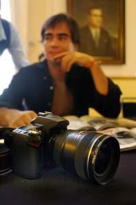 Rafael del Río y su mejor amiga: la cámara