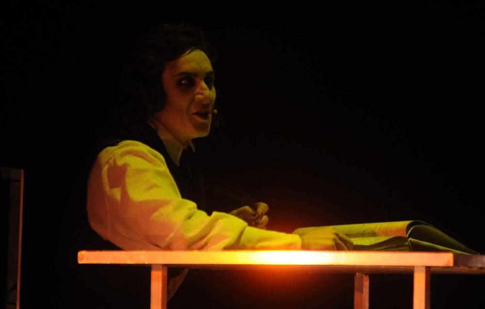 Ugo Rodríguez da vida a Victor Frankenstein en la ópera rock de Fors