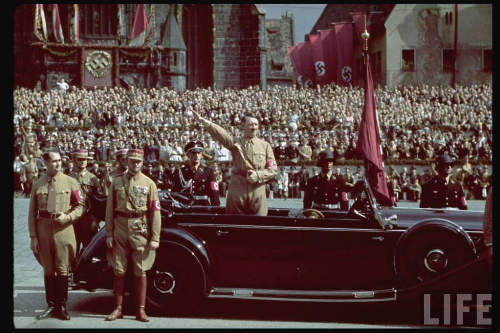 Foto de Hitler, del acervo de la revista Life