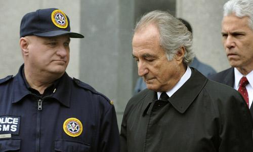 Madoff en una foto de Newsday. ¿Cómo se verá en 150 años?