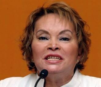 Esto es, señores, Elba Esther Gordillo
