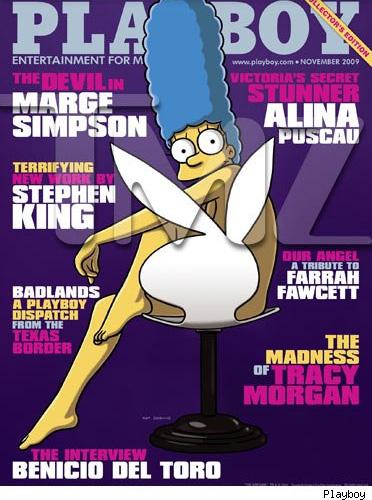Portada del número de noviembre de la revista Playboy