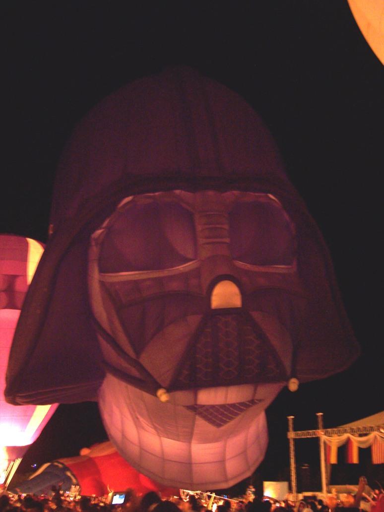 Darth Vader. Festival Internacional del Globo León 2009